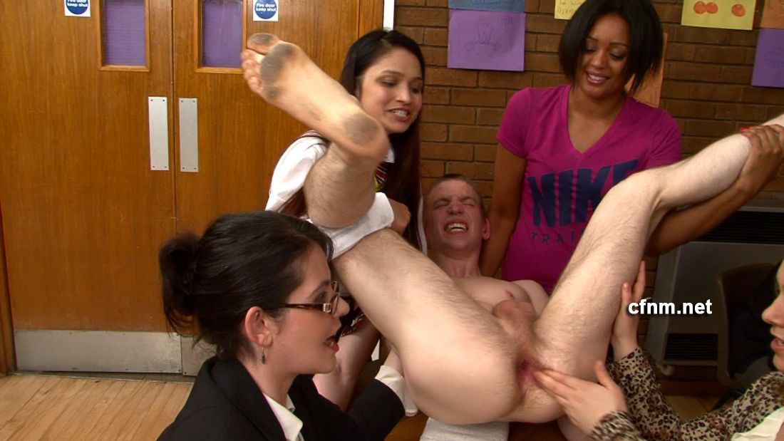 Anal and cfnm lovers start groupsex